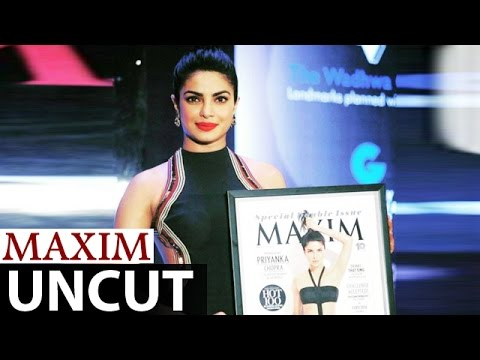 Priyanka Chopra UNVEILS Controversial Maxim Magazine Cover | FULL EVENT