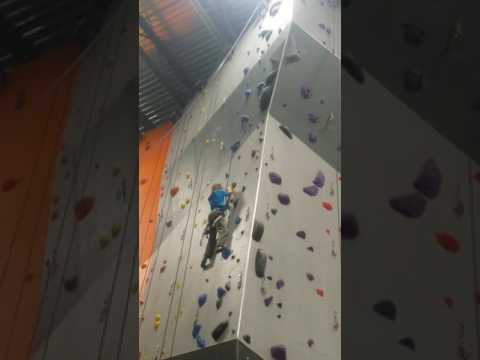 Gunnar at Alaska Rock Gym