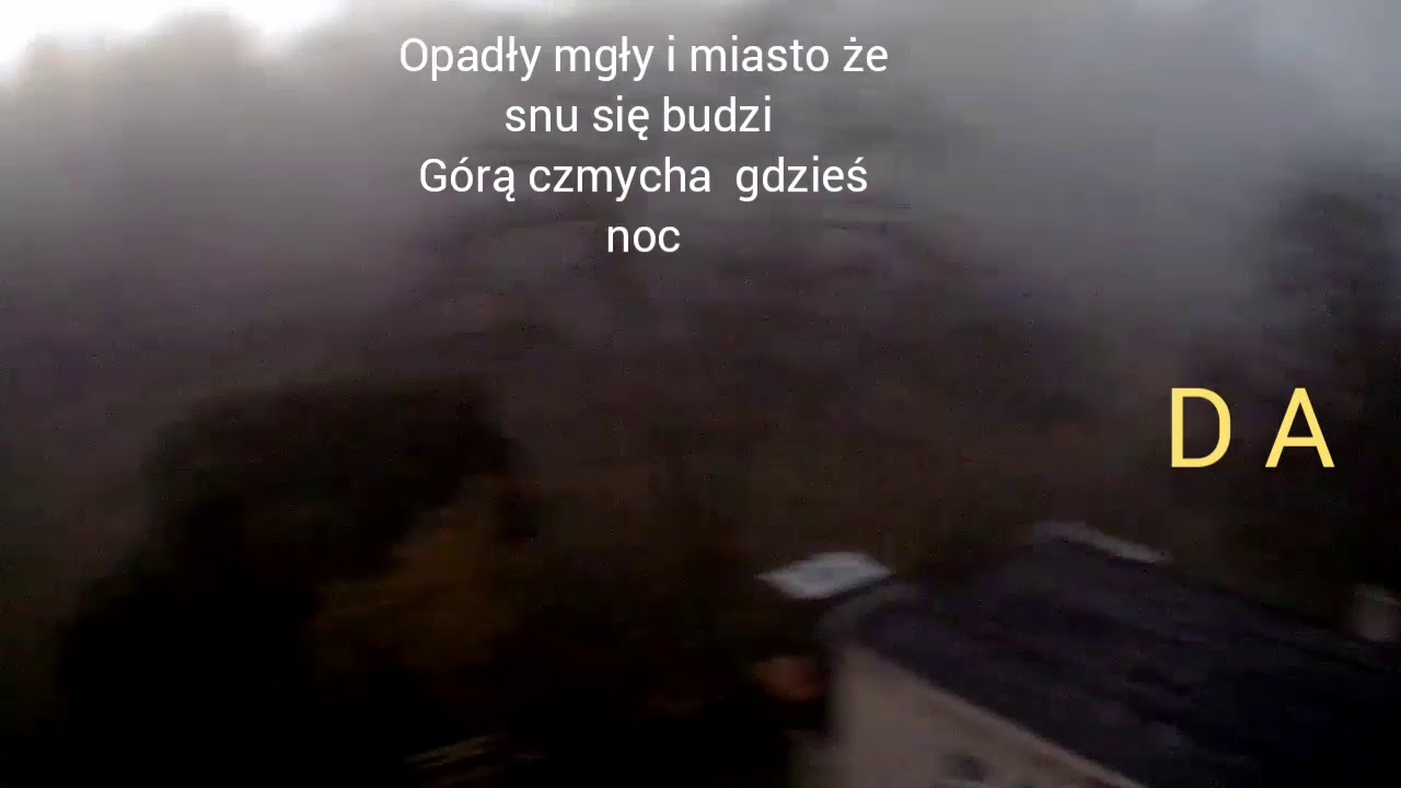 Utwor Opadly Mgly Slowa I Chwyty Na Gitare Youtube