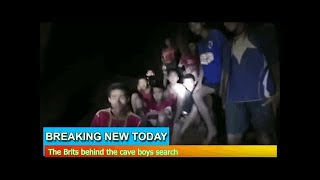Breaking News - The Brits behind the cave boys search