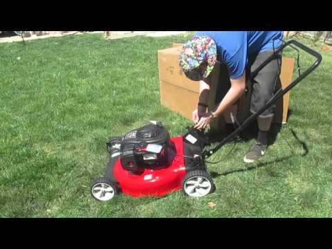 """Unboxing: Craftsman 21"""" Side Discharge Push Mower"""