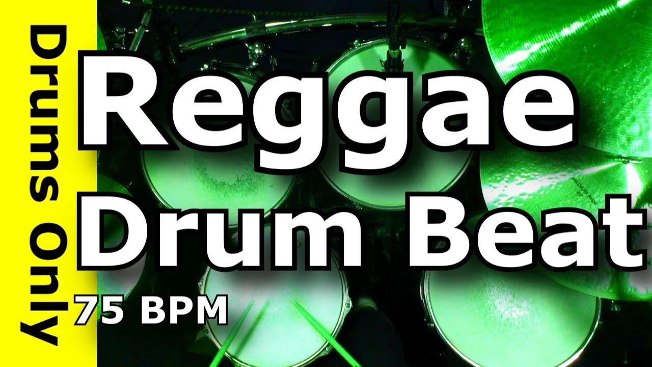 Reggae Drum Beat / Backing Track 75 BPM
