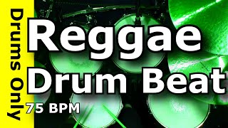 Reggae Drum Beat / Backing Track 75 BPM