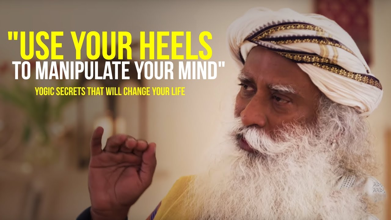 You Have No Idea HOW MUCH POWER Is In Your HEELS | Sadhguru