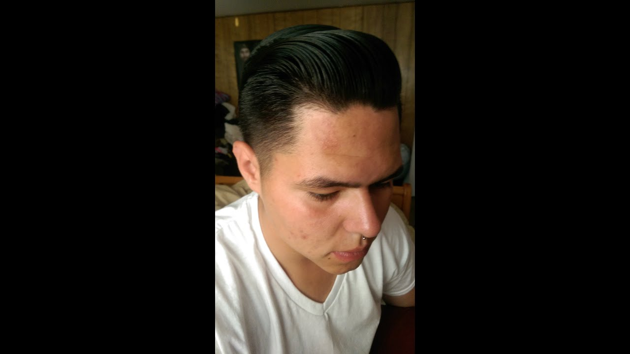 How To 1950s Mens Hair Style Youtube