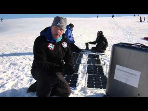 Part 4: Real life test at the Antarctic by Robert Swan