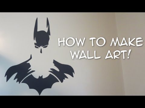 How to make awesome art for your wall! - YouTube