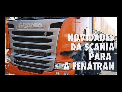 Novidades Scania para a FENATRAN