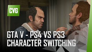 GTA V on PS4 - Character Switch Comparison