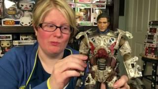 ThreeZero Fallout T-45 Power Armor Figure Review