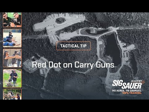 Tactical Tip: Red Dot on Carry Guns