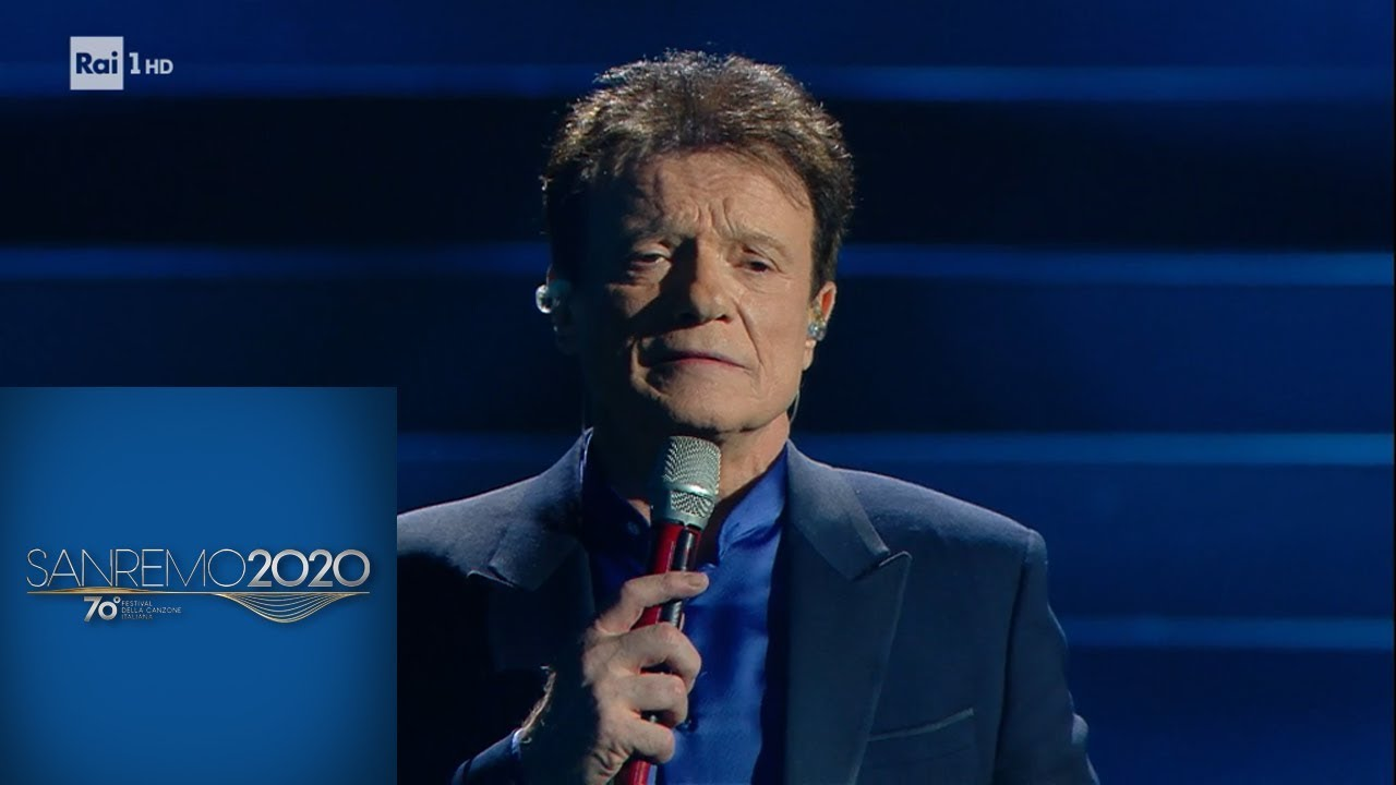 Sanremo 2020 - Massimo Ranieri canta