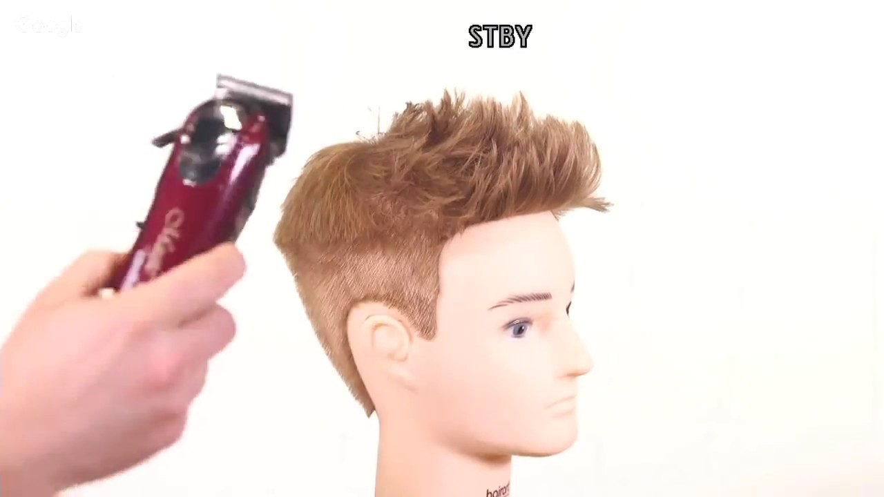 Faux Hawk Mens Haircut Tutorial Thesalonguy Youtube