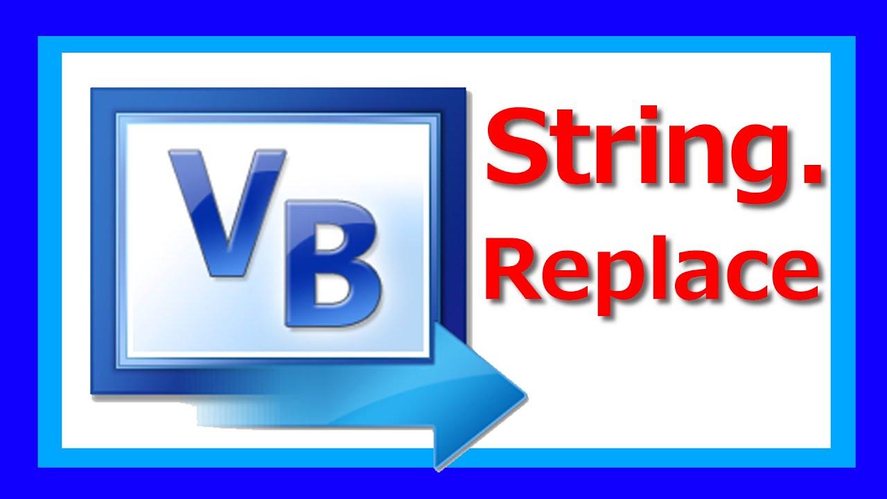 visual basic 2015 zeichen in string ersetzen howto 005. Black Bedroom Furniture Sets. Home Design Ideas