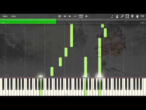 Loss - Ikenie to Yuki no Setsuna/I am Setsuna OST ~ Track 02 [Piano Tutorial] (Synthesia)