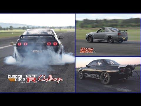 2014 GT-R Challenge - Australia's quickest street GT-Rs hit the runway