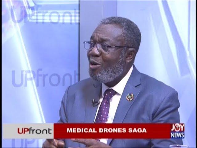 Medical Drones Saga – Upfront on JoyNews (5-12-18)
