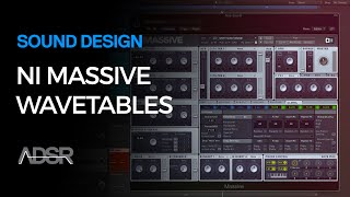 NI Massive tutorial - Introduction To Wavetables