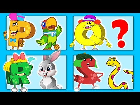 ABC Learning | Alphabet Adventure with Alice, Brian and Cherry Berry by ABC Monsters
