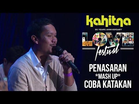Maliq & D'Essentials - Penasaran *mash up* Coba Katakan | (Kahitna Love Festival Concert)