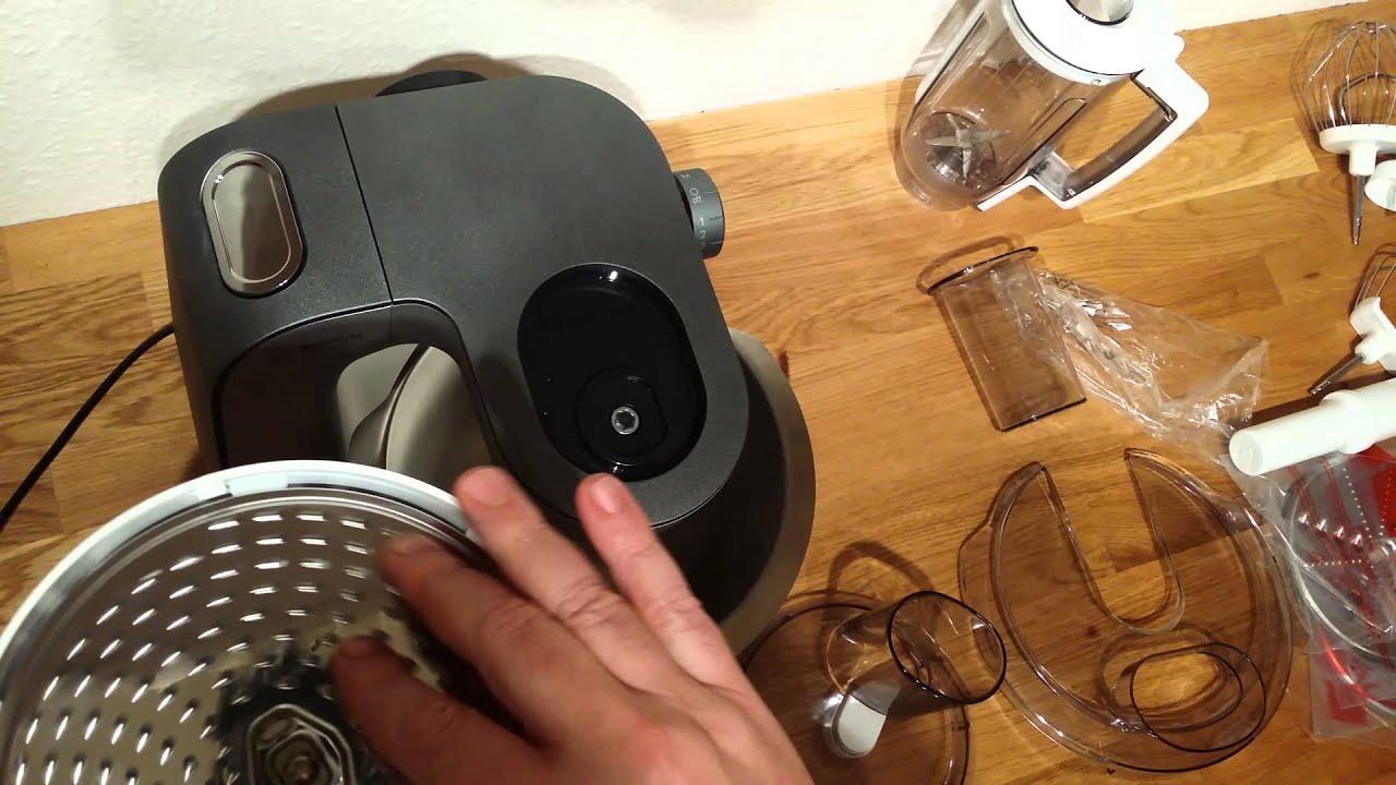 küchenmaschine bosch mum 5, mum 56s40, teile test, teil 2 - youtube