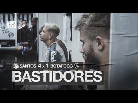 SANTOS 4 X 1 BOTAFOGO | BASTIDORES | BRASILEIRÃO (03/11/19)