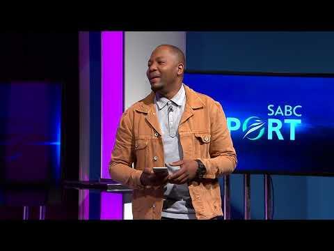 Shampoonizer entertains Thomas Mlambo and the viewers