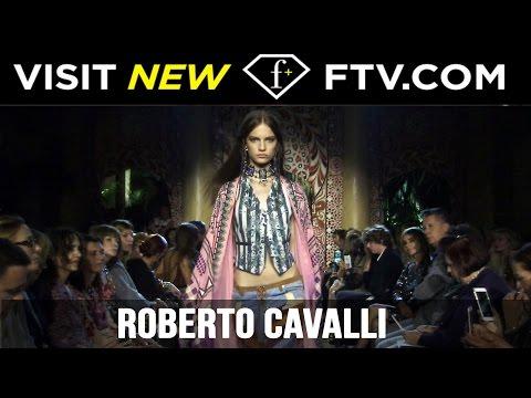 Roberto Cavalli Milan Fashion Week Spring/Summer 2017 | FTV.com