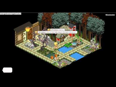 Habbo un jardin chinois youtube for Jardin chinois miniature