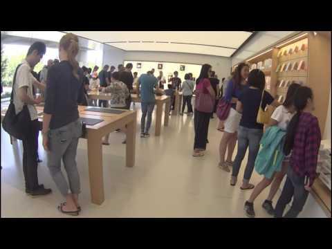 サンフランシスコ家族旅行 アップル本社 Apple company Apple Infinite Loop
