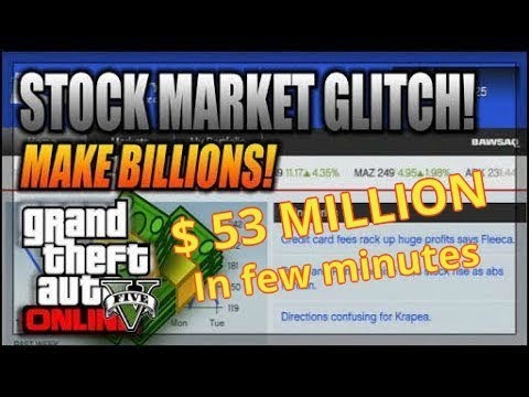 how to make money in stock market gta 5