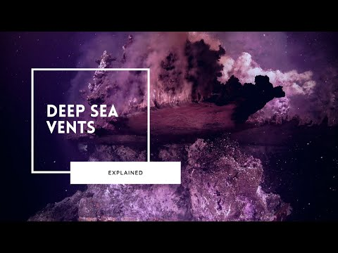 Alien World of Deep Sea Vents
