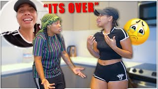 I *BROKE UP* with my Girlfriend prank GONE WRONG! (BAD IDEA) | EZEE X NATALIE