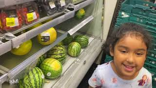 Ishfi Buys Yellow Watermelon from Shop