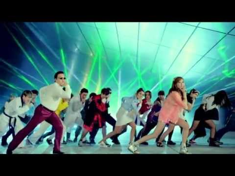 PSY - Gangnam Style (Original and HYUNA Versions Mix)