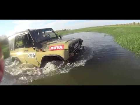 Как не надо ездить в разлив! УАЗ 4x4. Off-road.