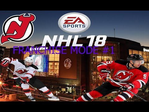 NHL 18 DEVILS FRANCHISE MODE EPISODE 1!