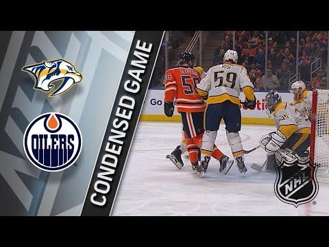 03/01/18 Condensed Game: Predators @ Oilers