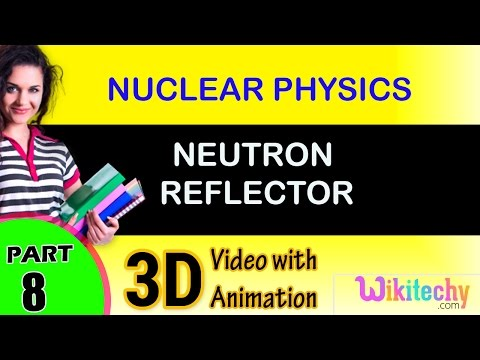 Neutron Reflector |  Nuclear Physics | class 12 physics subject notes lectures|CBSE|IITJEE|NEET