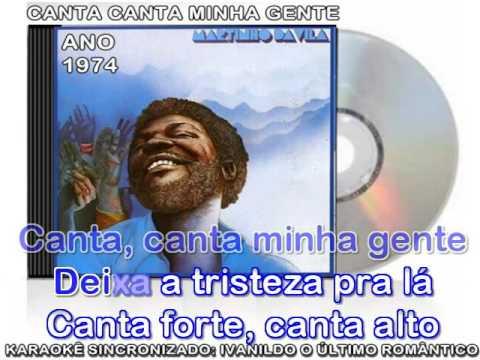 Canta Canta, Minha Gente - Martinho da Vila - karaokê
