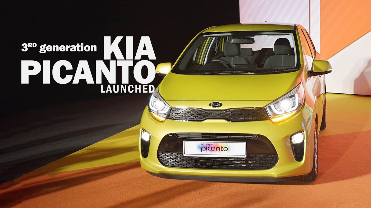 The Briefing Kia Picanto 1 2 Ex Launched Youtube