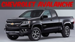 Watch This, 2018 New Chevrolet Avalanche - Supercar Info
