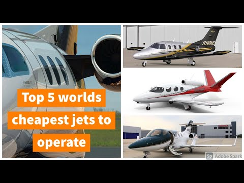 Top 5 worlds cheapest jets to operate