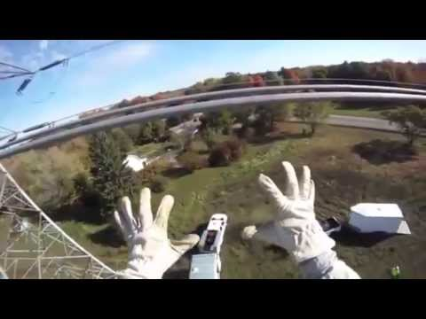 Dangerous Fun Playing with 765,000 Volt High Power Transmission Lines