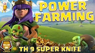 The Super Knife | Power Farming | Clash of Clans