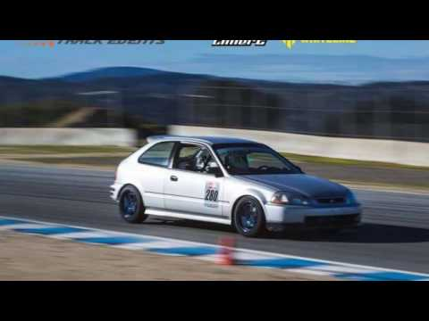 B18C CIVIC CHASING K24 INTEGRA