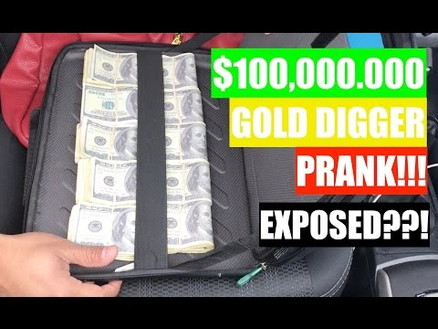 NEW Gold Digger Prank 2017 | Part 37 Gold Digger EXPOSED? | UDY PRANKS
