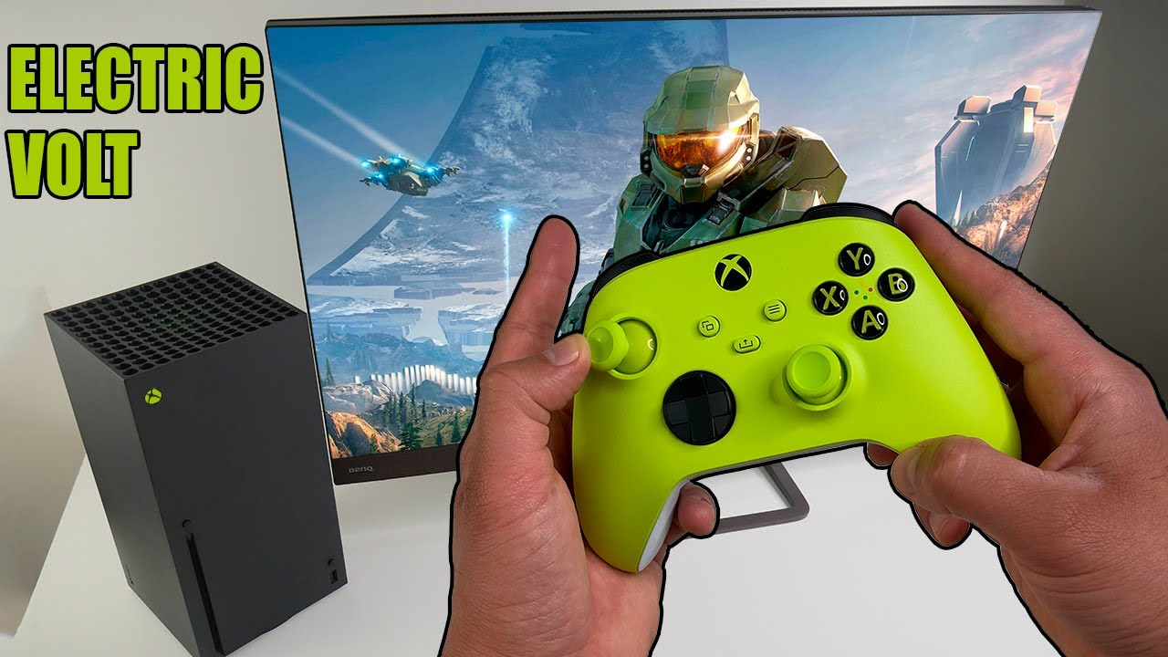 Electric Volt Xbox Series X Wireless Controller - Unboxing and Review