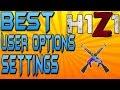 BEST USER OPTIONS SETTINGS IN H1Z1 KOTK!