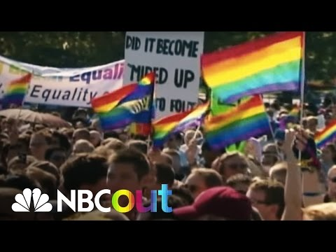 How The Pride Rainbow Flag Came To Be | NBC Out | NBC News